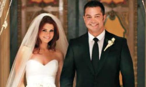 JoAnna Garcia & Nick Swisher
