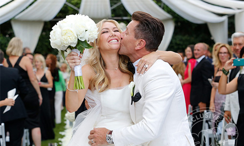 Dancing with the Stars' Kym Johnson and Robert Herjavec Are Married!