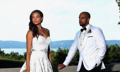 Mistresses Star Rochelle Aytes Marries C.J. Lindsey: See Her Wedding Dress!
